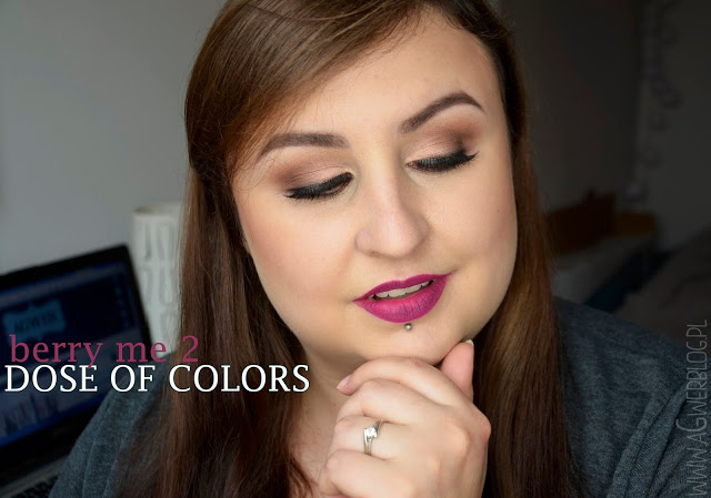 Dose of colors, Berry me 2 makeup look