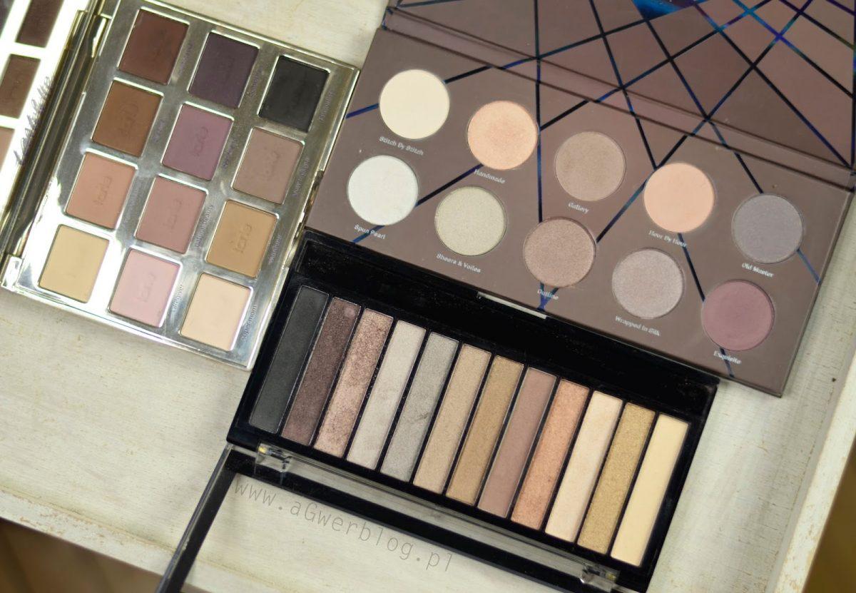paleta do dziennego makijażu