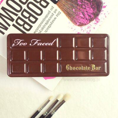 Too Faced Chocolate Bar | czekolada, która nie tuczy!