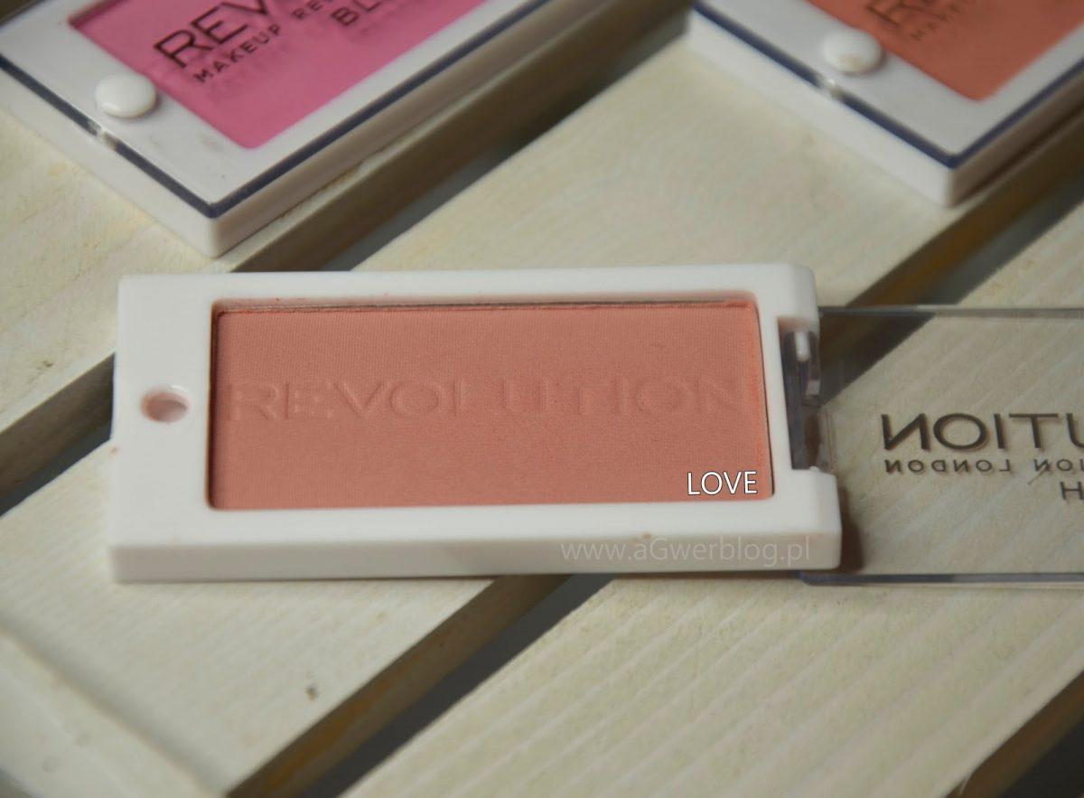 Makeup Revolution róże