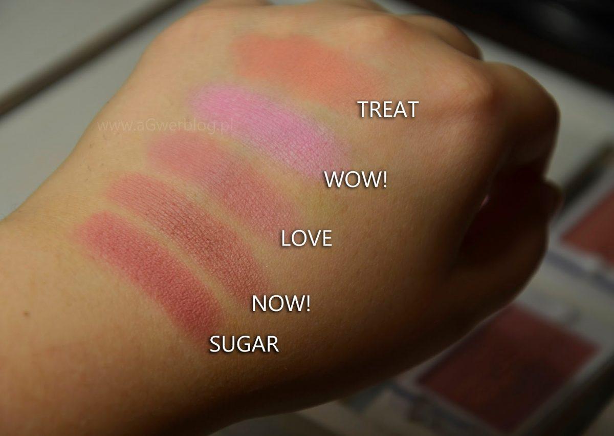 Róże Makeup Revolution