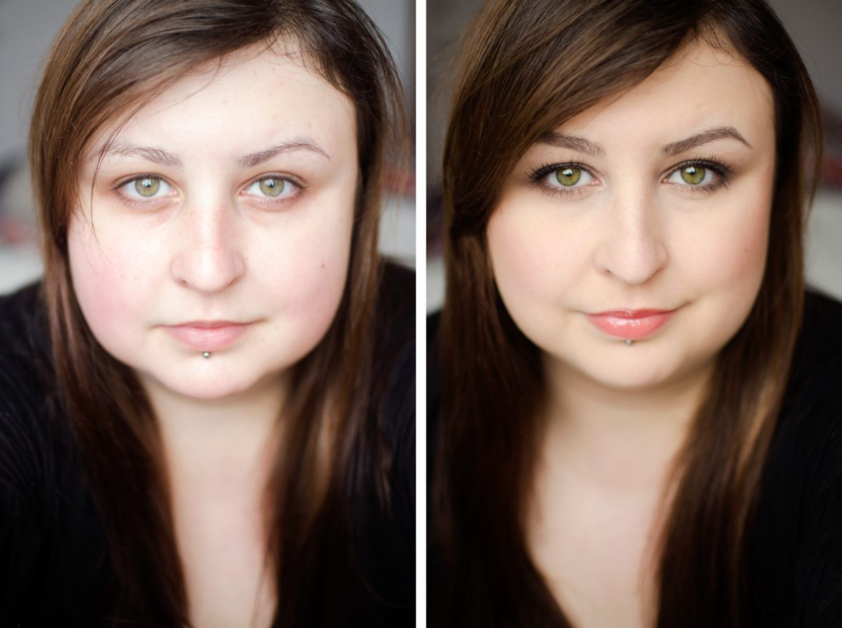 makijaż nude