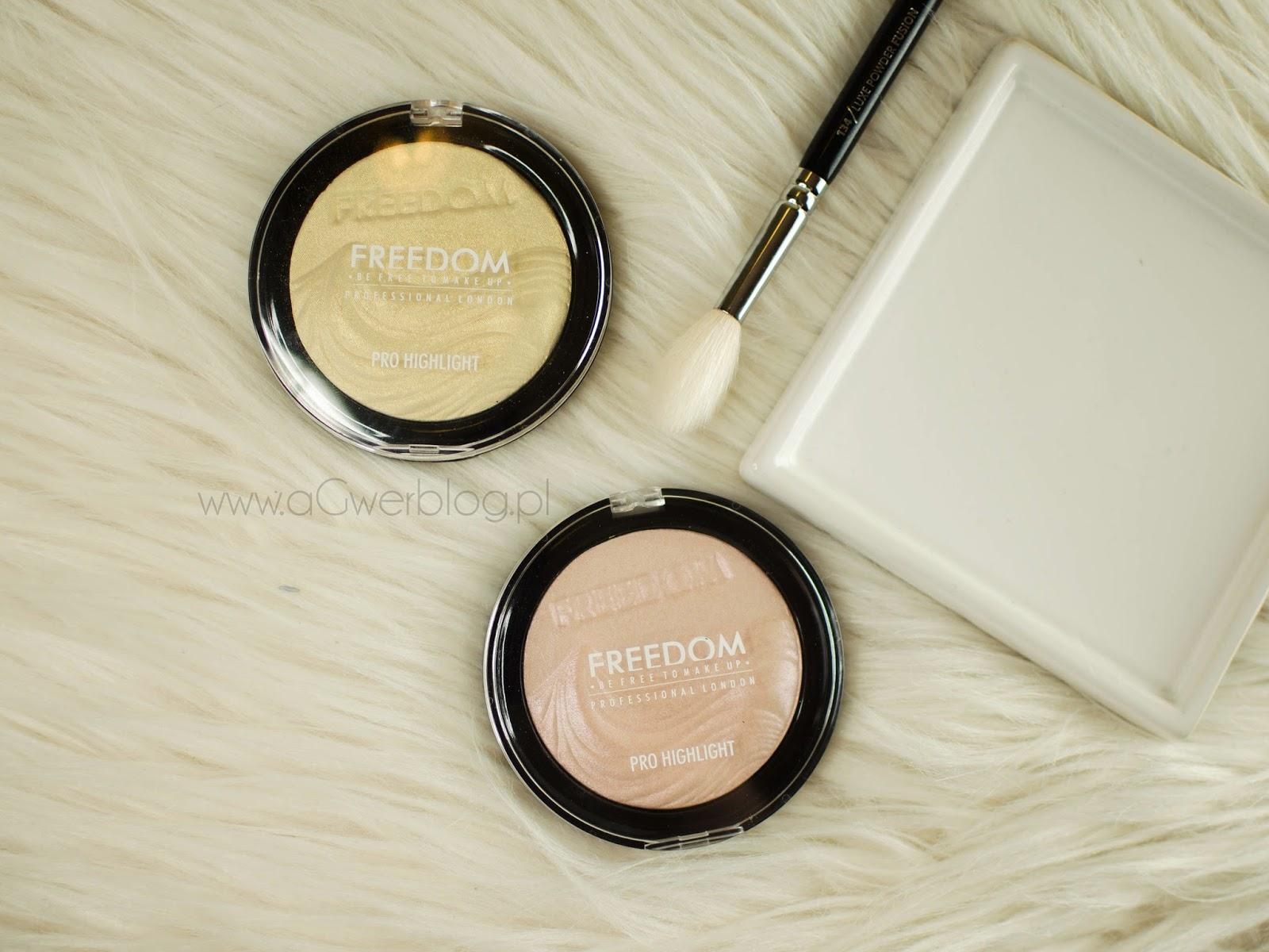 Rozświetlacze Freedom Makeup   Pro Highlight