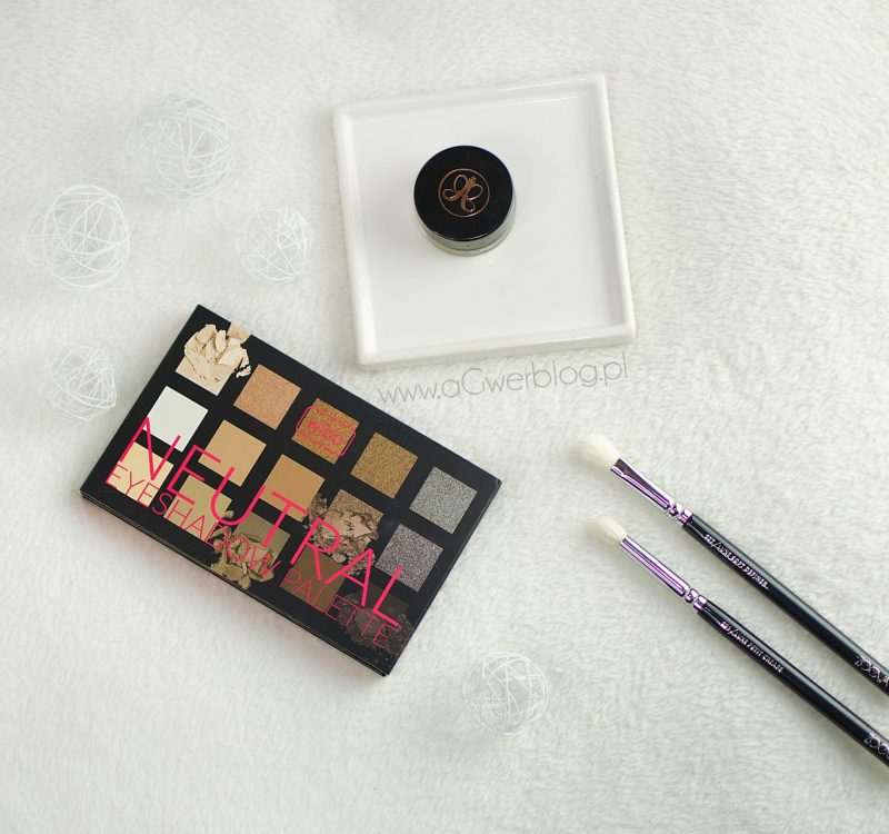 Wibo Neutral Eyeshadow palette | swatche