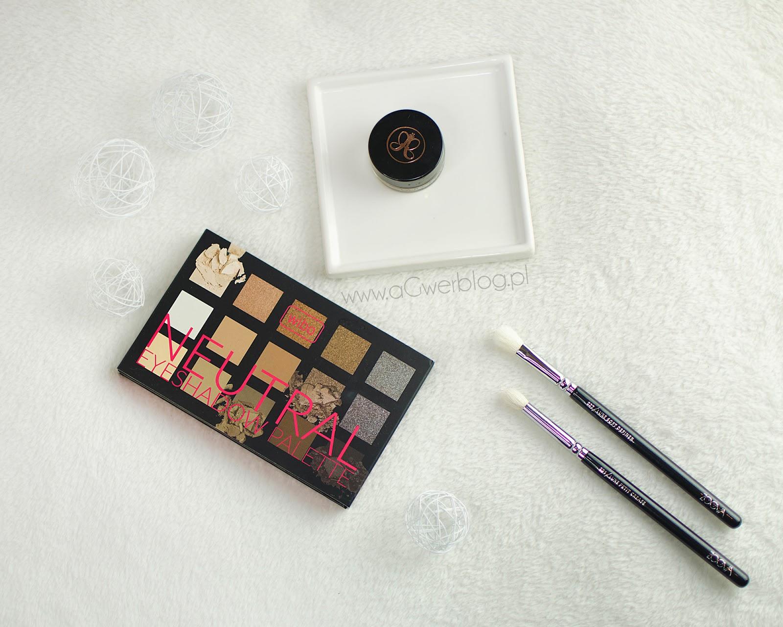 Wibo Neutral Eyeshadow palette | swatche
