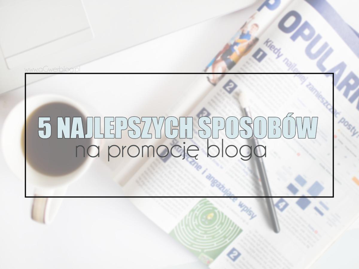 Jak promować bloga