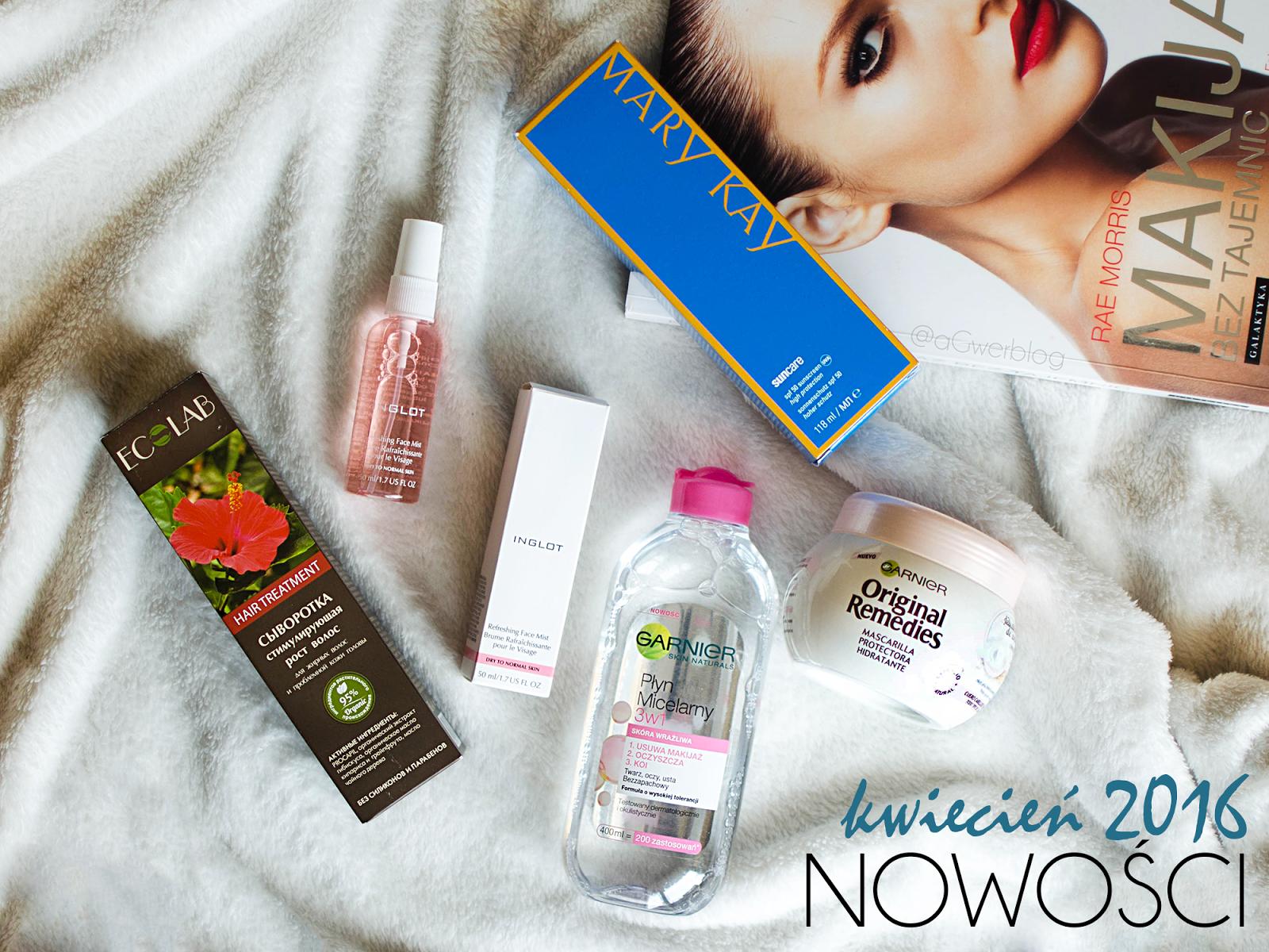 Nowości kwiecień 2016 | Kat Von D, NYX, Makeup Geek
