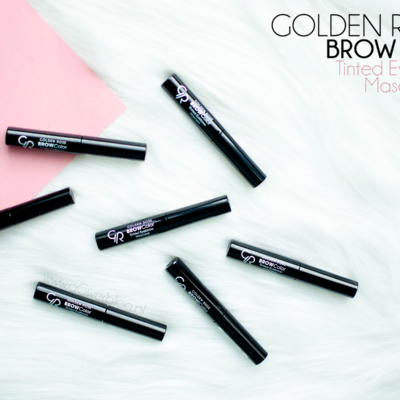 Makijaż brwi z Golden Rose | BROW Color Tinted Eyebrow Mascara