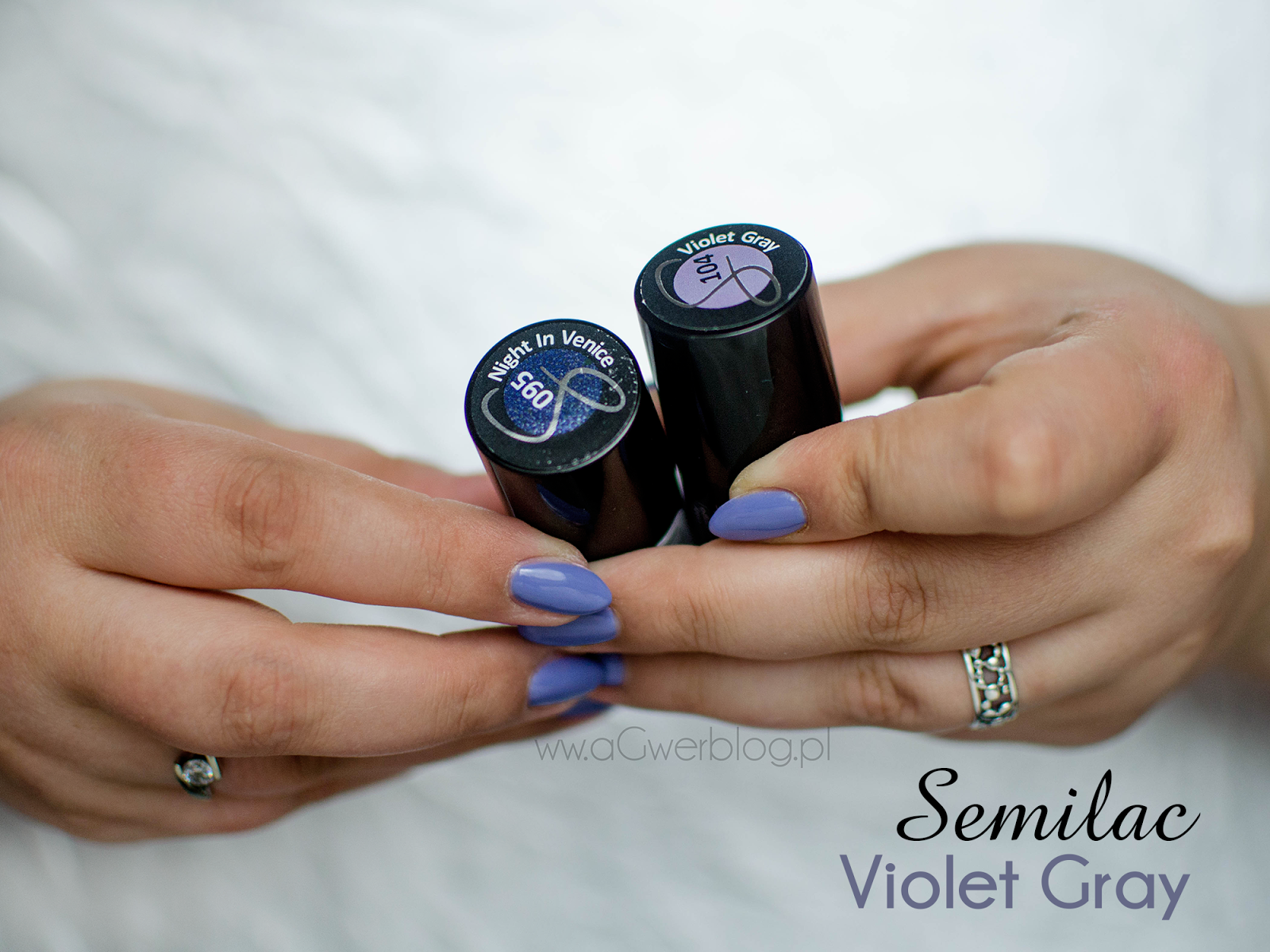 Najpiękniejszy fiolet: Semilac Violet Gray