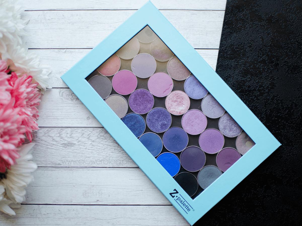 fioletowe cienie makeup geek