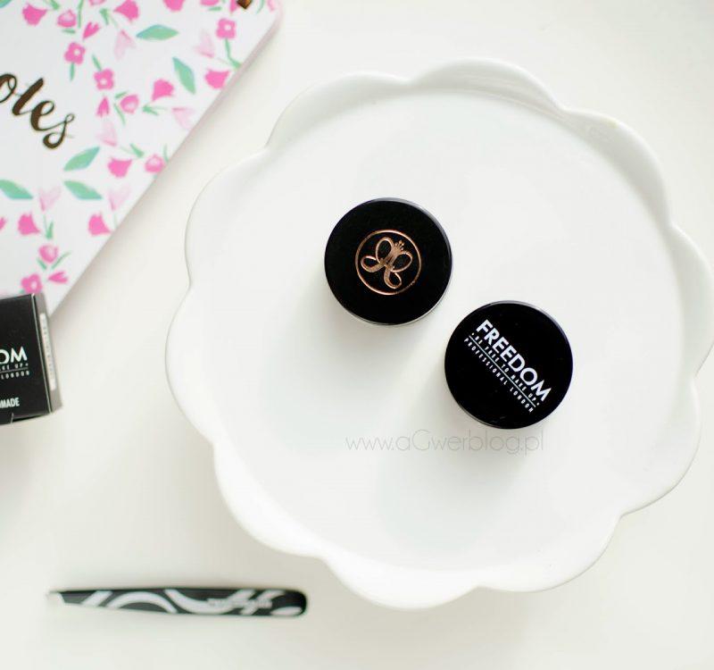 Pomada do brwi: Anastasia Beverly Hills czy Freedom Makeup?