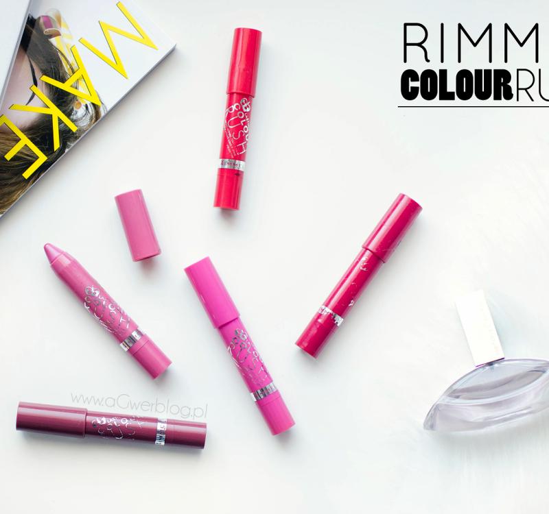 Najlepsze kredki do ust | RIMMEL Colour Rush