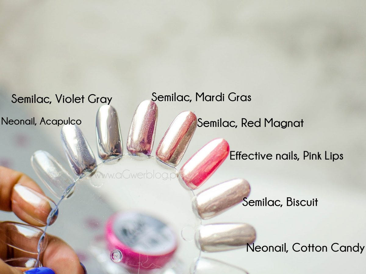 Pyłek semi flash metallic marki semilac