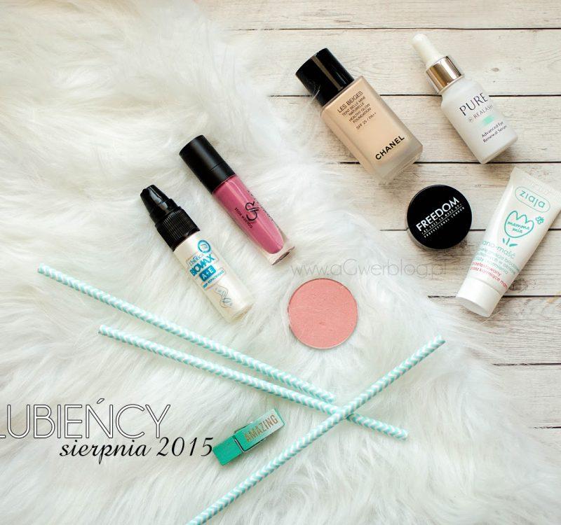 Ulubieńcy sierpnia   Chanel, Makeup Geek, Realash