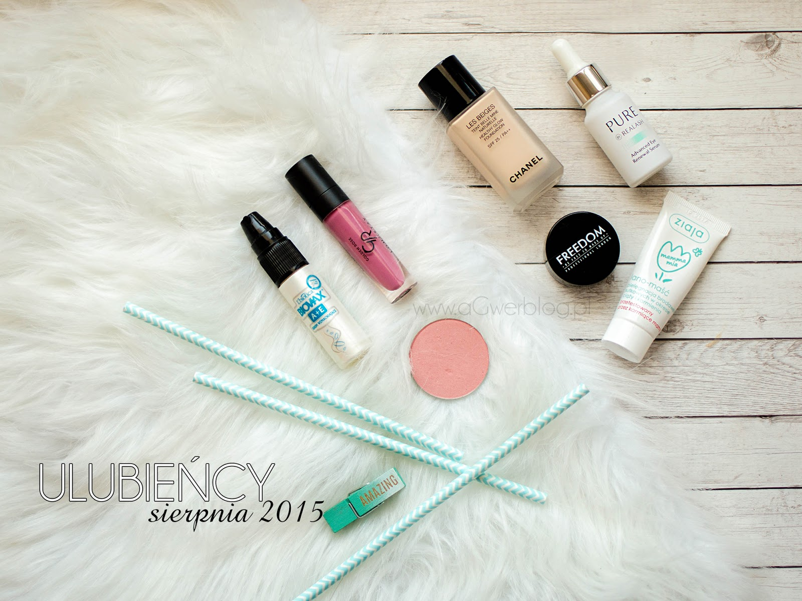 Ulubieńcy sierpnia | Chanel, Makeup Geek, Realash