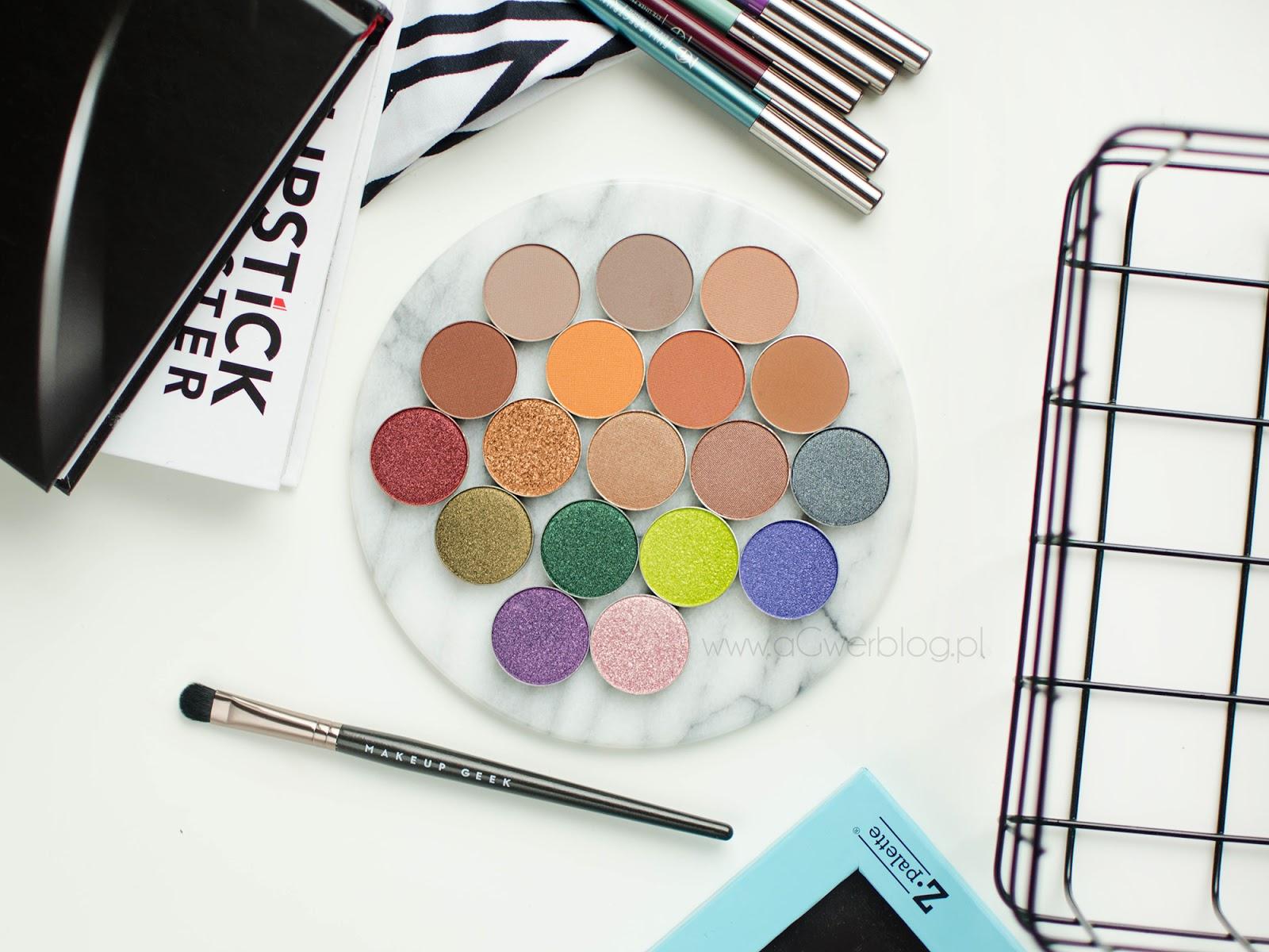 Nowe cienie Makeup Geek + swatche