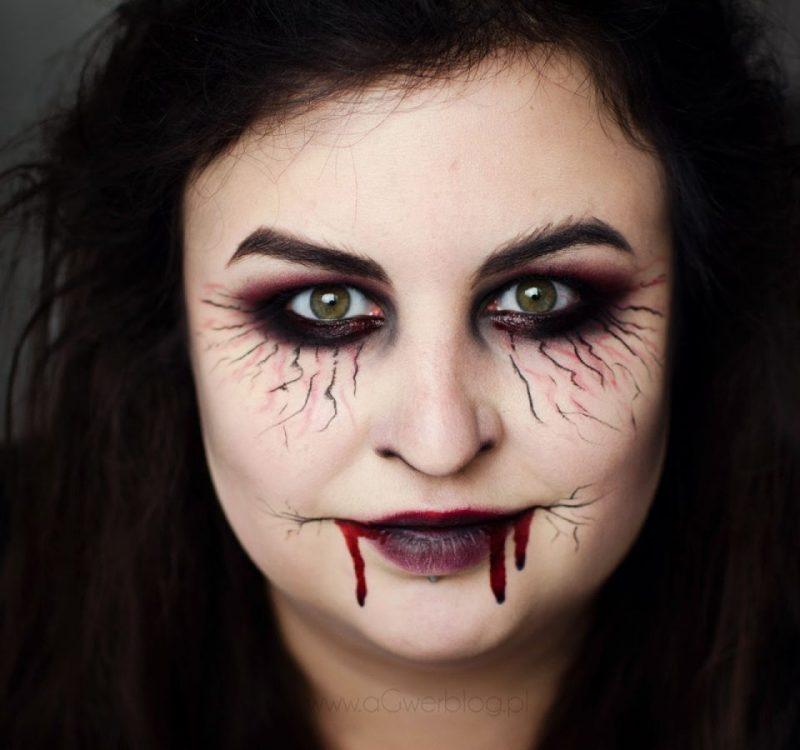 Jak zrobić łatwy makijaż na Halloween? Wersja last minute