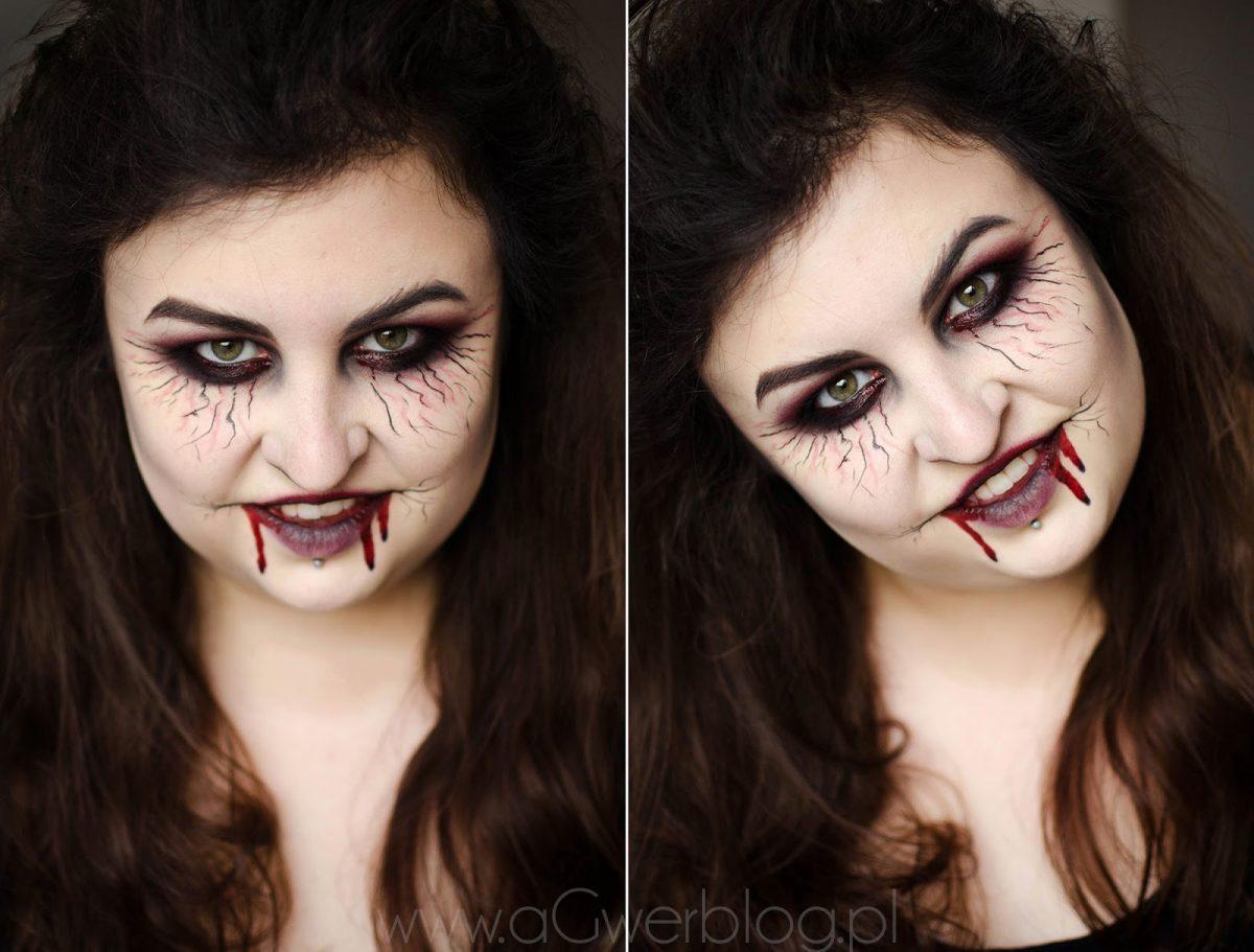 jak zrobić łatwy makijaż na halloween