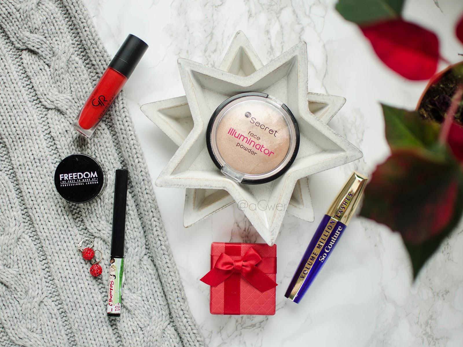 Świąteczny niezbędnik makijażowy na każdą kieszeń