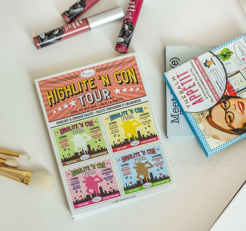 Paleta do konturowania theBalm, Highlite 'n Con Tour