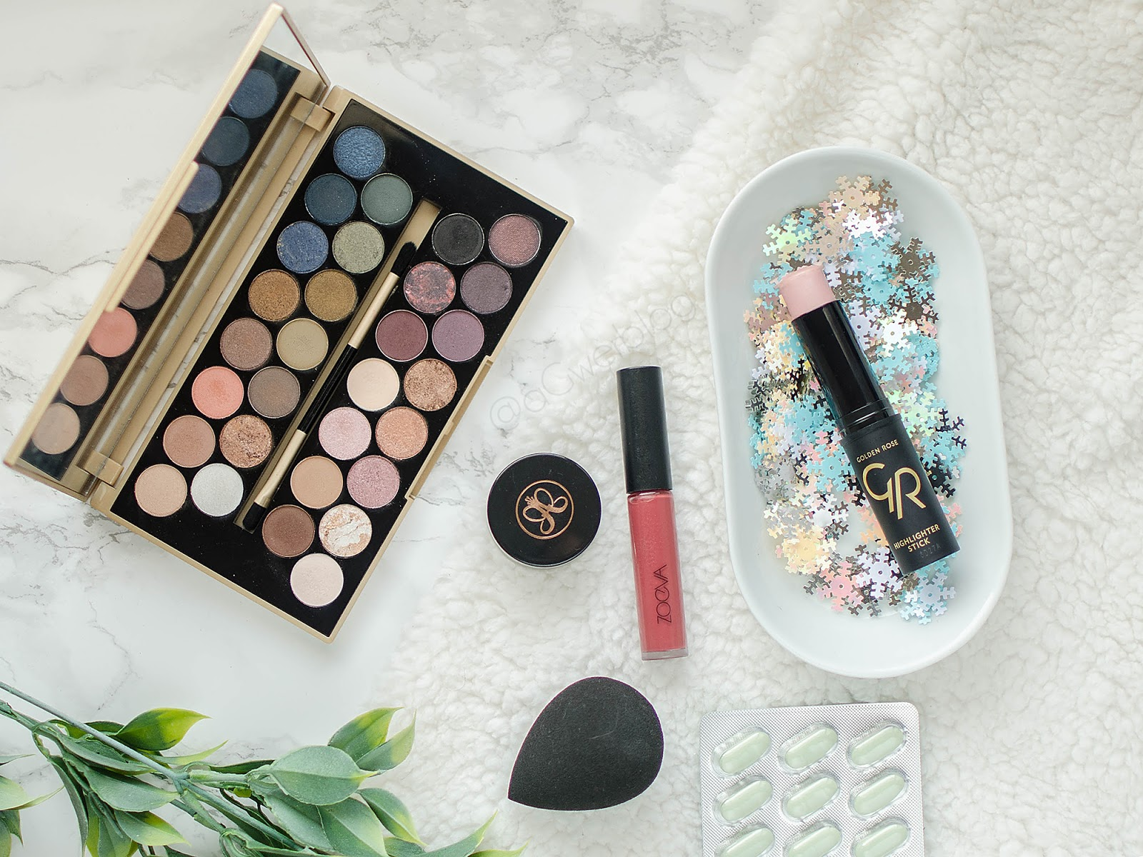 Ulubieńcy kosmetyczni | Zoeva, Kiehl's, blend it!, ABH