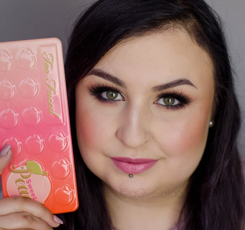 Makijaż walentynkowy | Too Faced, Sweet Peach