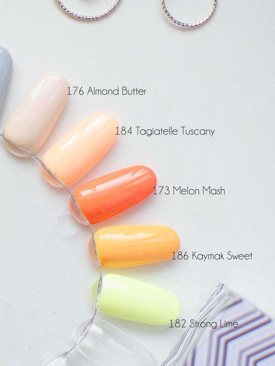 lakiery hybrydowe kolekcja Semilac Flavours