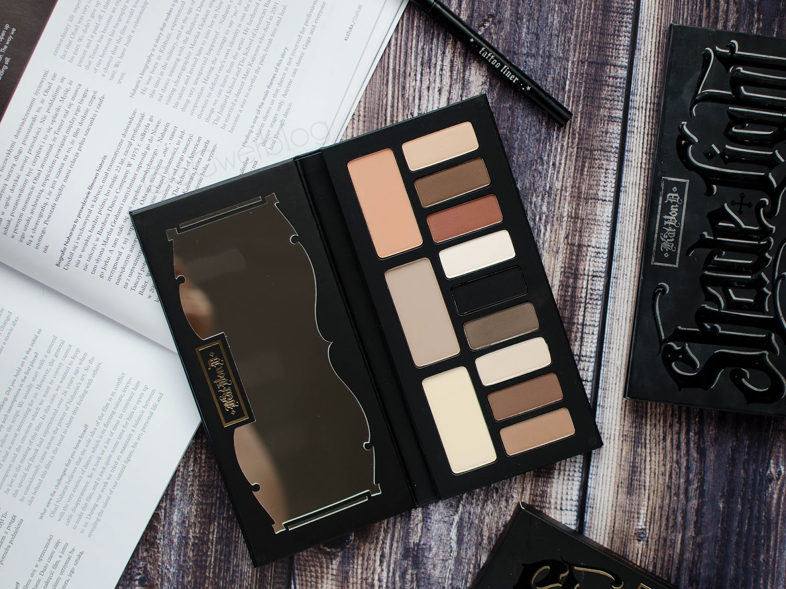 Najlepsza paleta cieni EVER | Kat Von D, Shade and Light eye