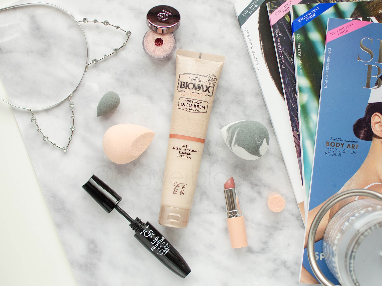 Ulubieńcy kwietnia | Makeup Geek, Biovax, Rimmel