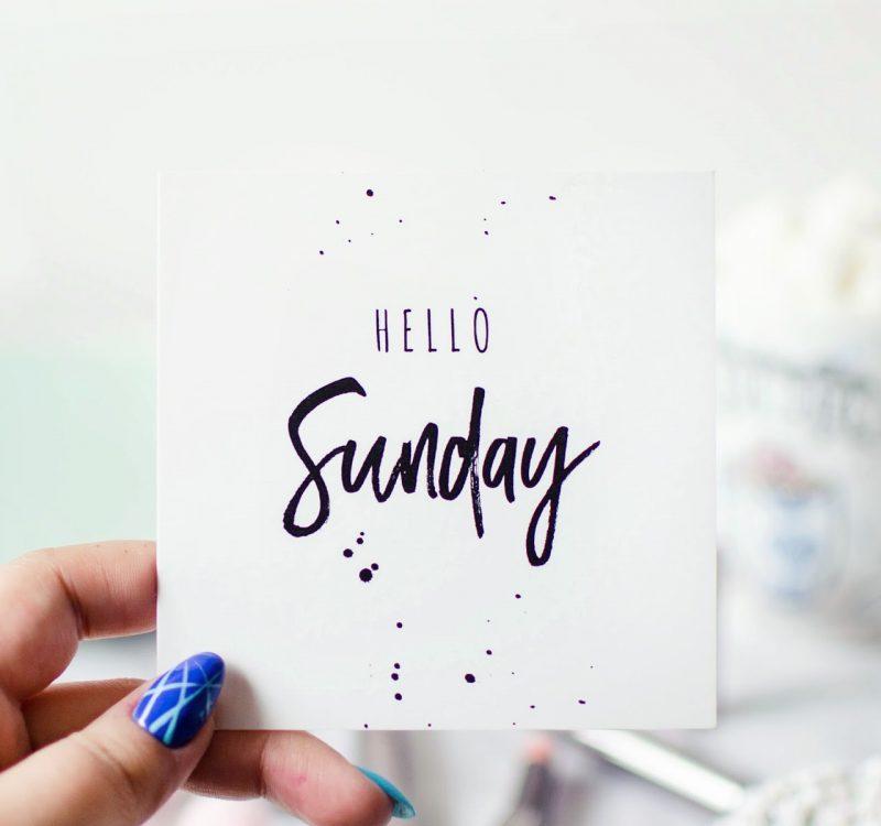 Niedzielnik | moment, który zmienił moje życie, o planach na wakacje i zażegnanym kryzysie