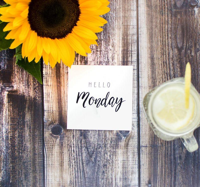 5 sposobów na udany początek tygodnia