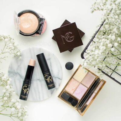 Przegląd produktów do strobingu | MAC, Smashbox, Golden Rose