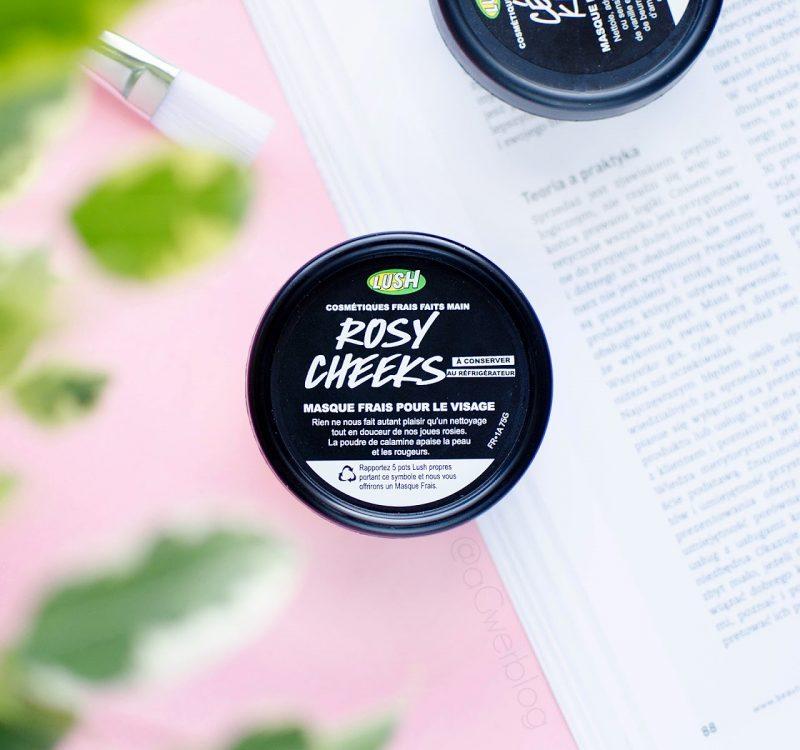 Lush Rosy Cheeks – maseczka do cery naczynkowej
