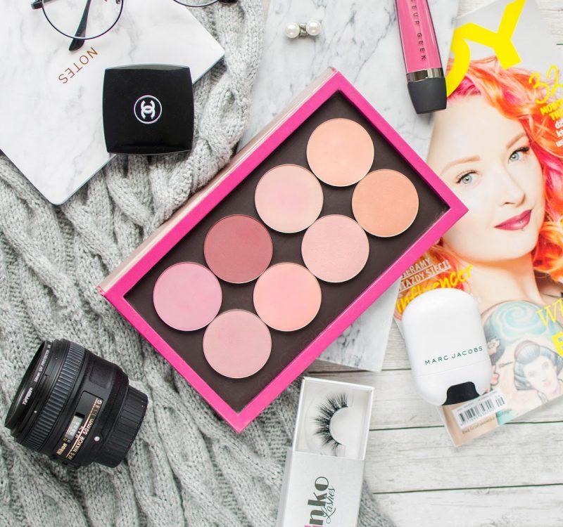 Jak nakładać róż? | Róże Makeup Geek opinia i swatche