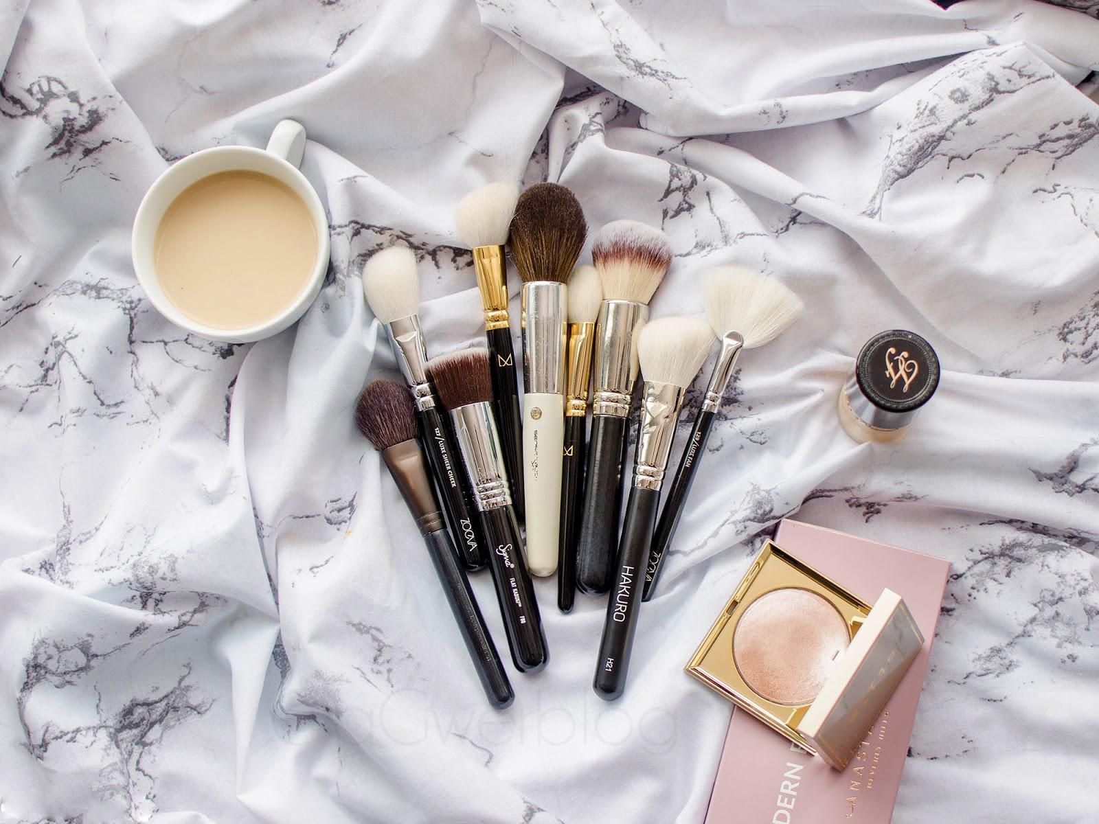 Pędzle do makijażu twarzy | 9 modeli godnych polecenia