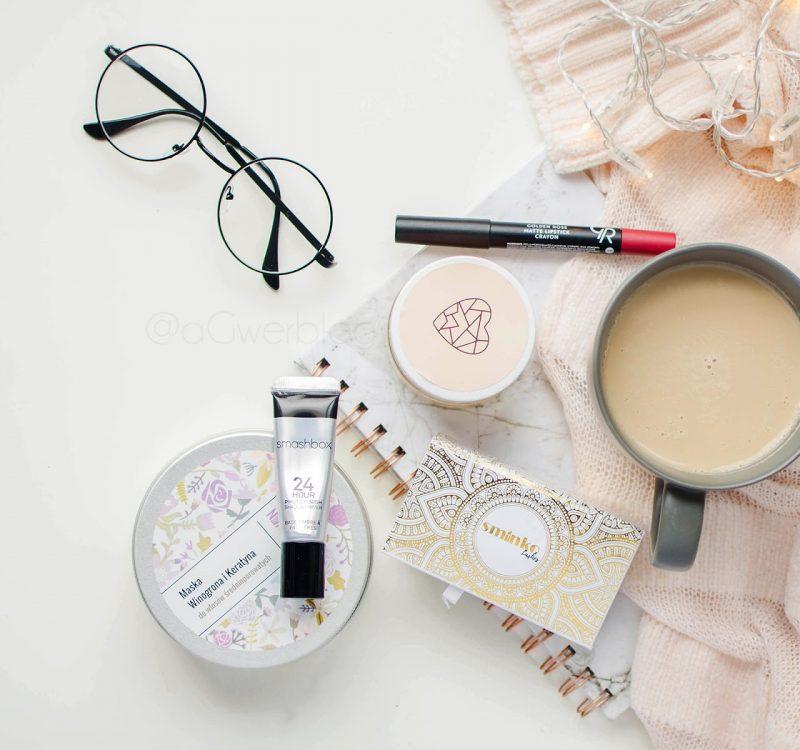 Ulubieńcy kosmetyczni września | Smashbox, MIYA, Golden Rose