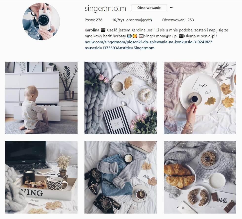 inspirujące konta na instagramie blog