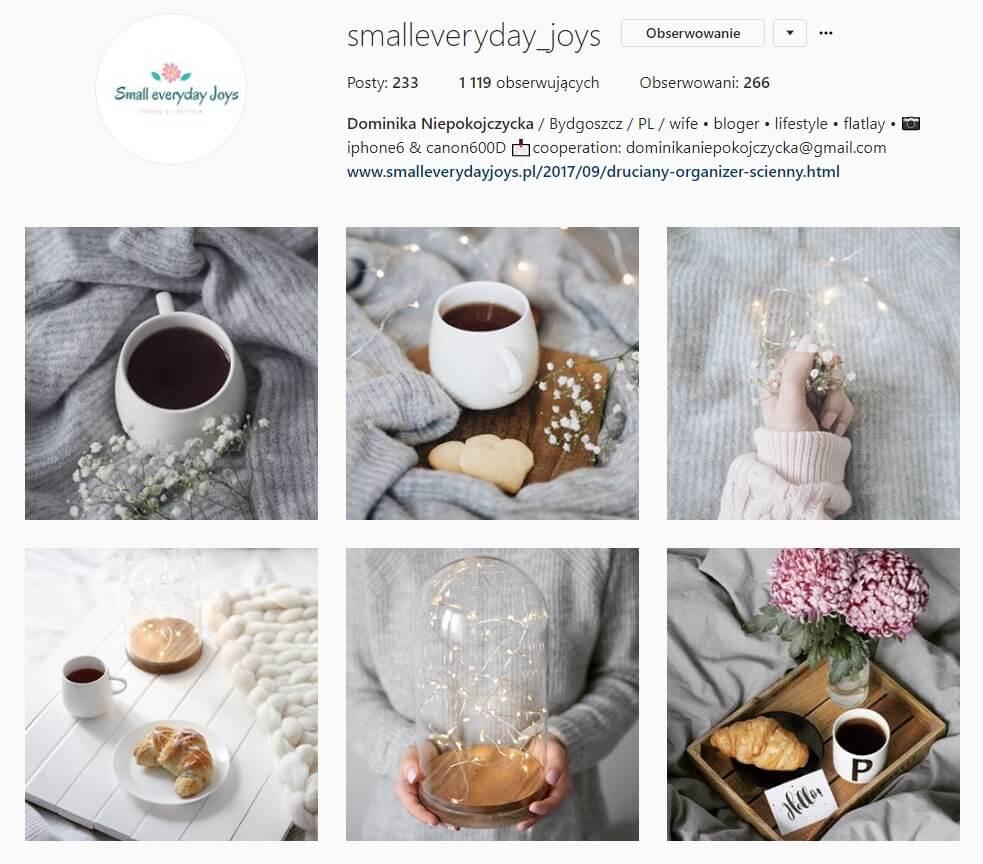 inspirujące konta na instagramie smalleveryday