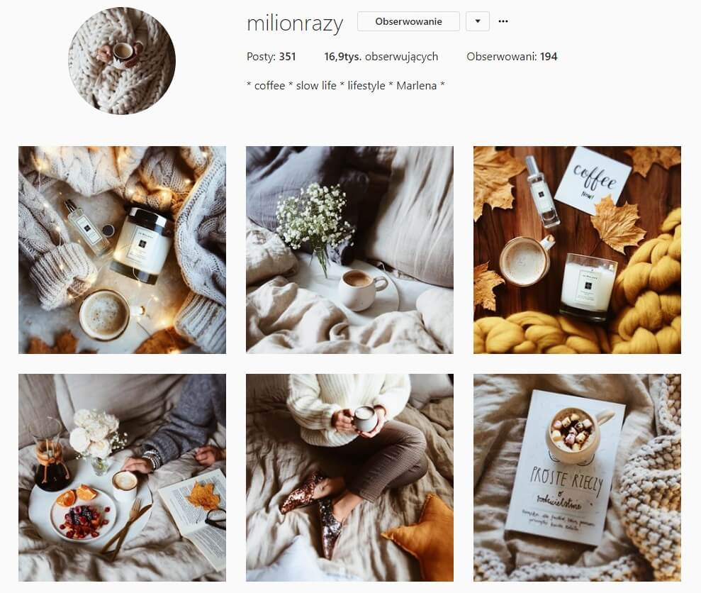 inspirujące konta na instagramie, ktore warto obserwowac