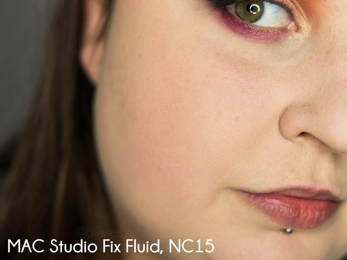 MAC Studio Fix fluid kolory