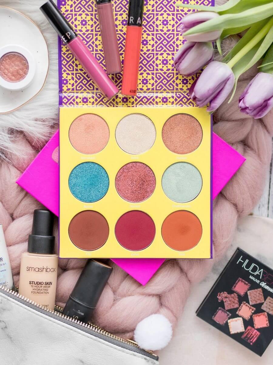 nowości kosmetyczne październik 2017 makijaż