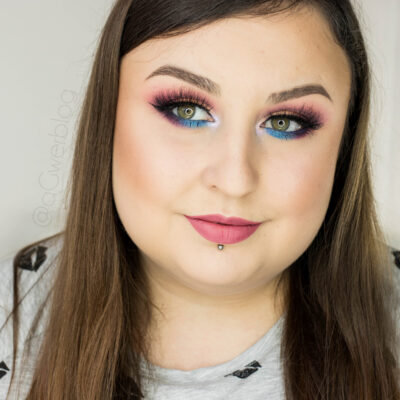 Makijaż na Sylwestra | kolorowe cut crease i tutorial na YouTube