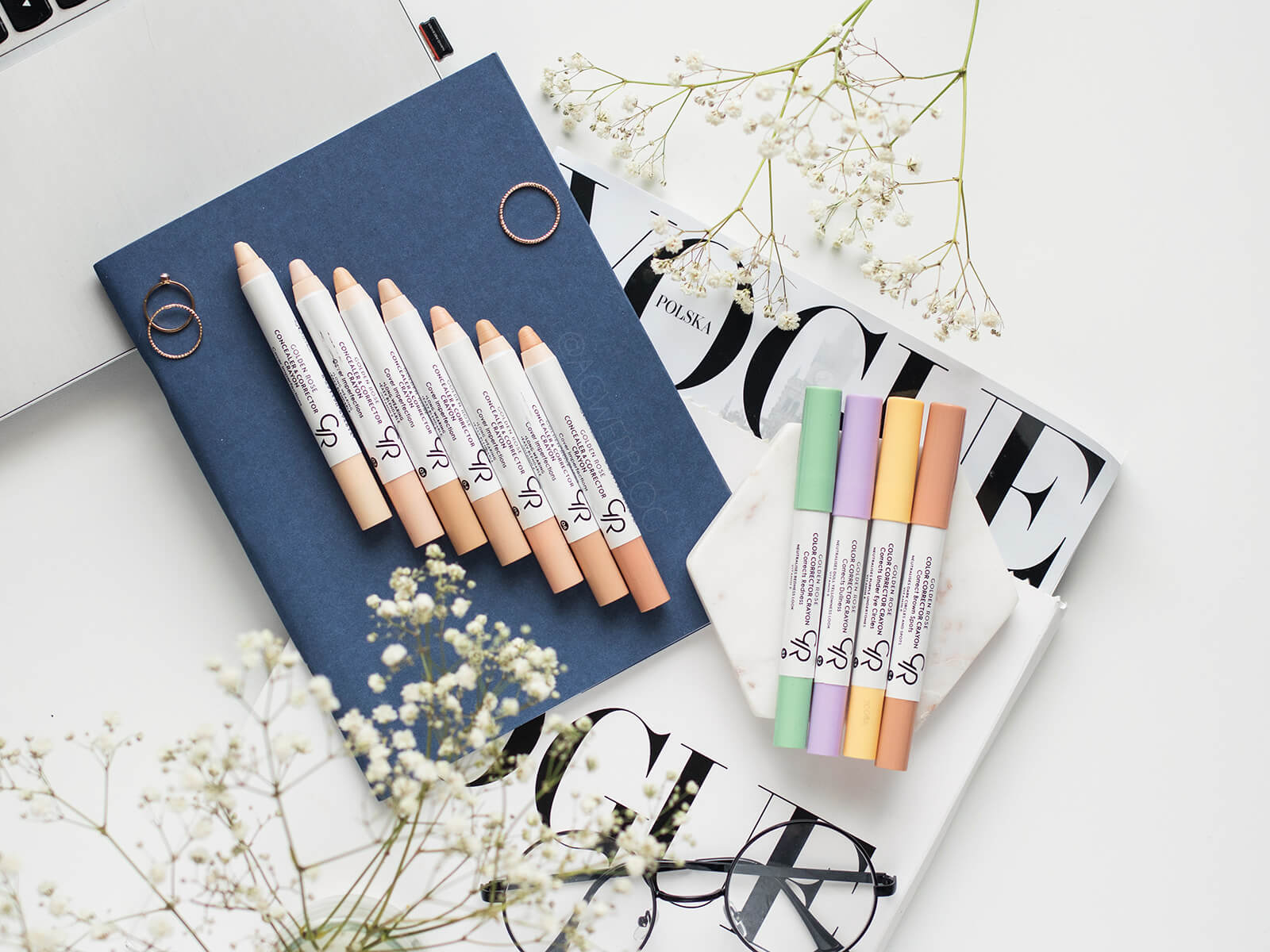 Golden Rose Color Corrector Crayon