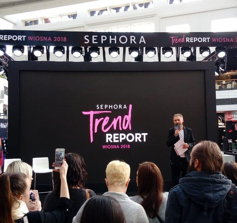 Trendy w makijażu na wiosnę i lato 2018 | Sephora Trend Report