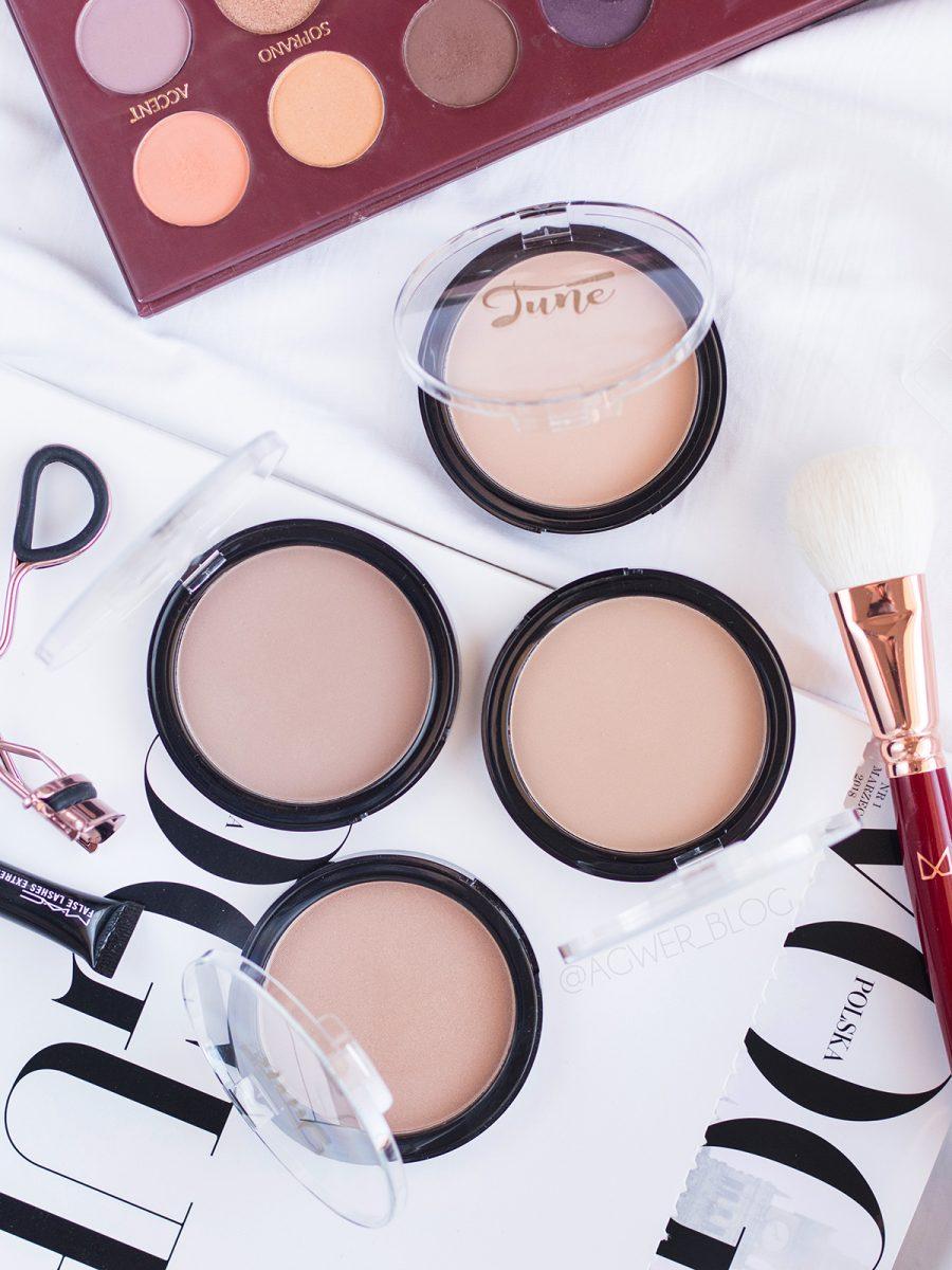 pudry brązujące tune cosmetics recenzja