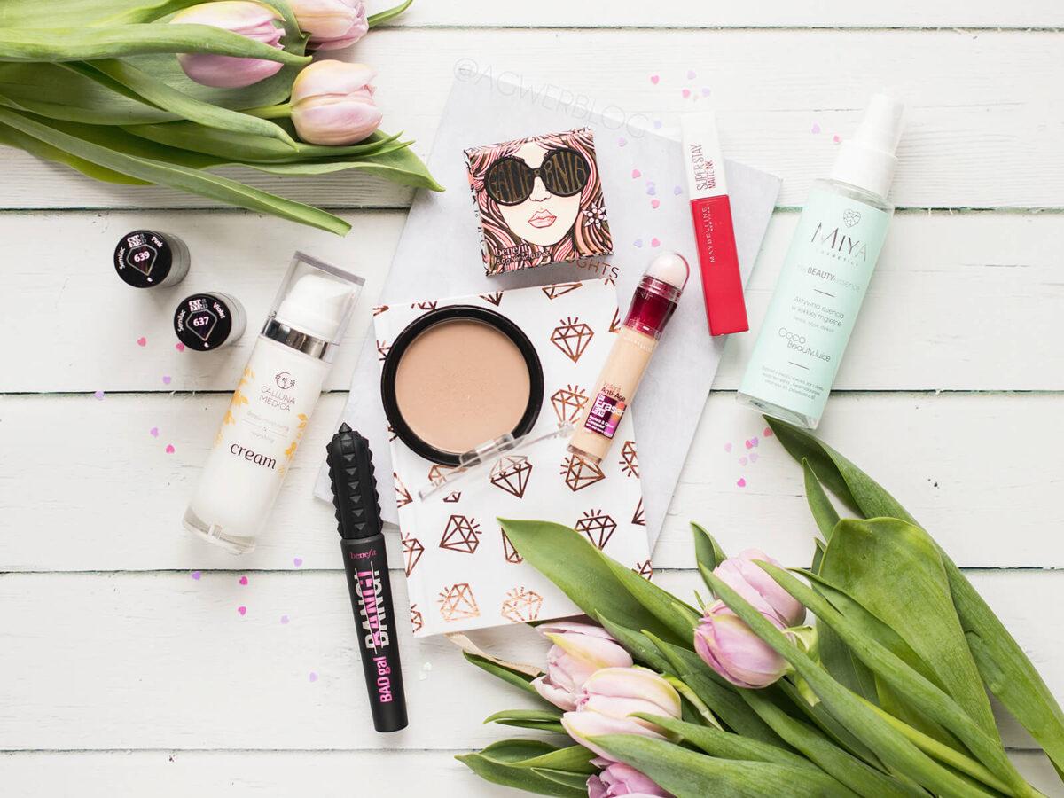 ulubieńcy kosmetyczni lutego