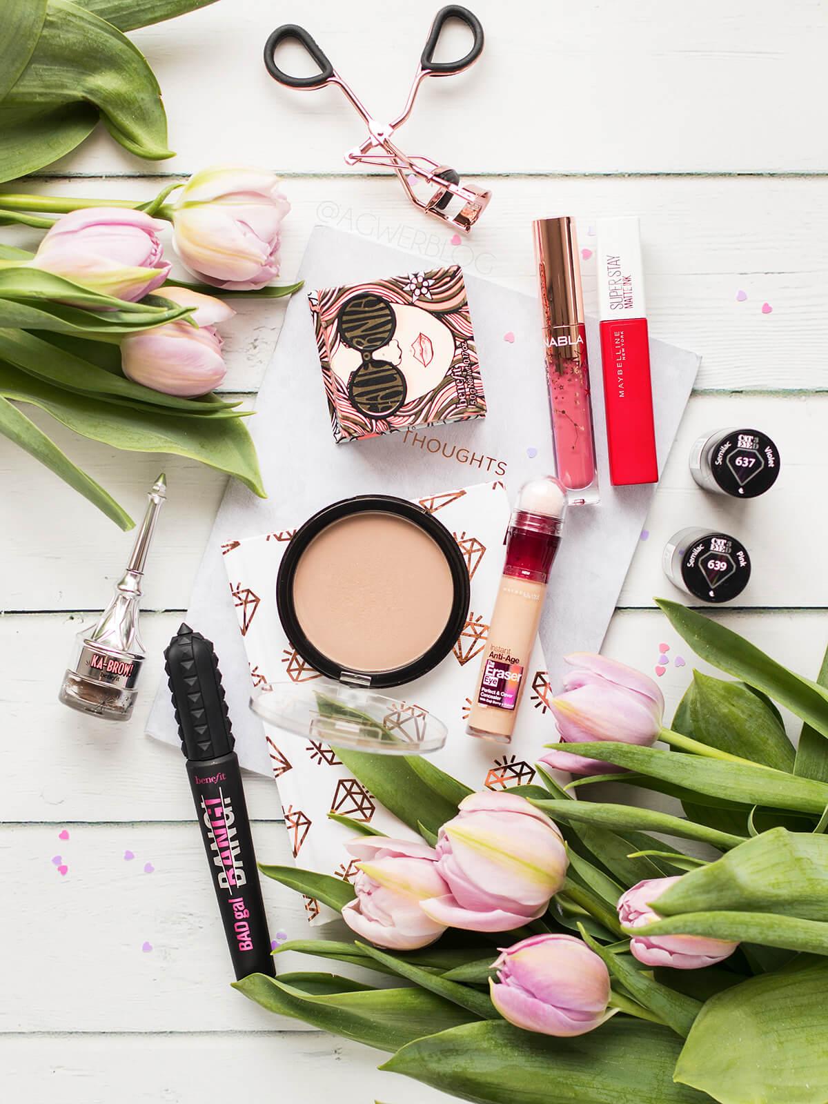 ulubione kosmetyki z lutego