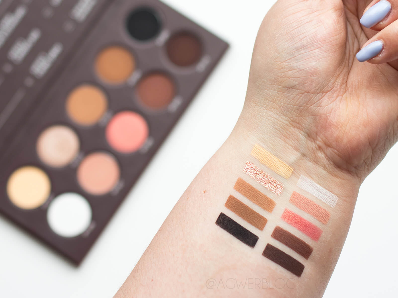 paletka affect pure passion swatches