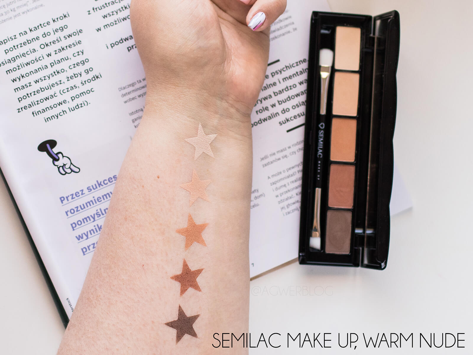 semilac warm nude swatches