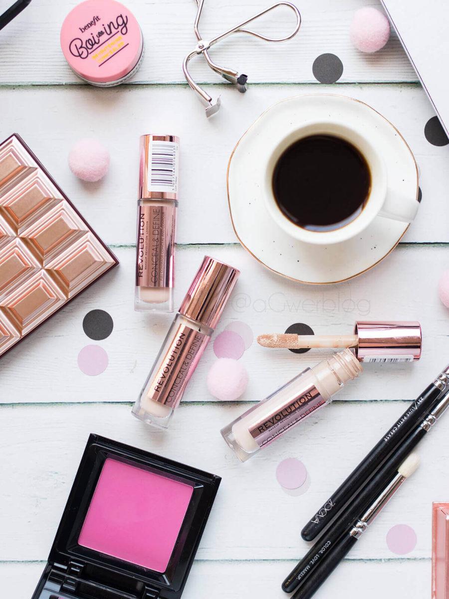 makeup revolution conceal and define blog